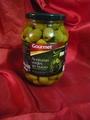 Groene ontpitte olijven met kamille 800g/420g