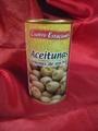 Groene olijven met ansjovis  350g/150g